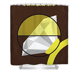 No766 My Donnie Brasco Minimal Movie Poster Shower Curtain