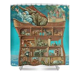 Noahs Arc Shower Curtain