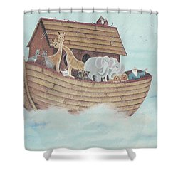 Noah's Ark Shower Curtain
