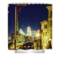 Nob Hill Electric Shower Curtain