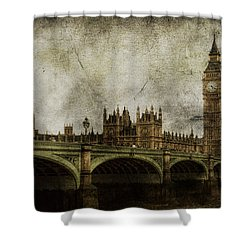 Noble Attributes Shower Curtain by Andrew Paranavitana