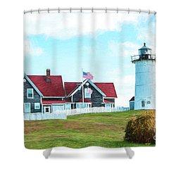 Nobska Light Shower Curtain