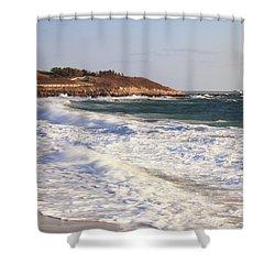 Nobska Point Seascape Shower Curtain