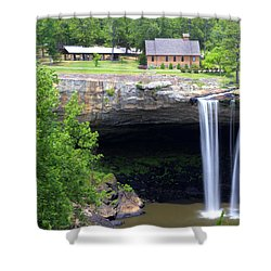 Noccolula Falls Gadsden Alabama Shower Curtain