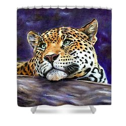 Nocturnal Solitude Shower Curtain