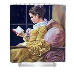 Nocturne Inspired By Fragonard Shower Curtain