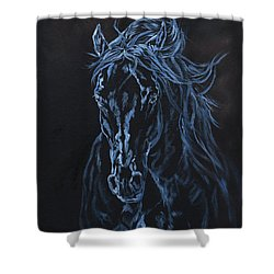 Nocturno Shower Curtain by Jana Goode