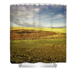 Nodak Field Shower Curtain