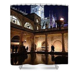 Twilight Roman Baths Shower Curtain