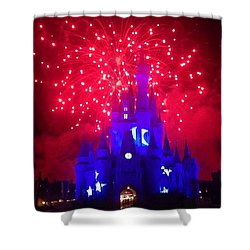 The Sorcerors Castle  Shower Curtain