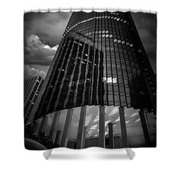Noir Shower Curtain
