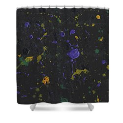 Nola Mardi Gras Shower Curtain by Phil Strang