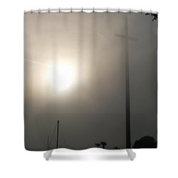 Nombre De Dios - The Great Cross Shower Curtain