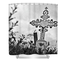 Nome Shower Curtain by Laurie Stewart