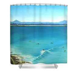 Noosa National Park Shower Curtain