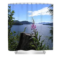 Flowers Of Nootka Sound Shower Curtain
