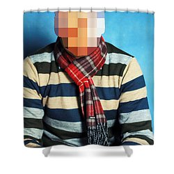 Shower Curtain featuring the photograph Nor That by Prakash Ghai