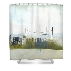 Noredney 1 Shower Curtain