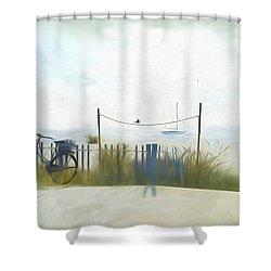 Noredney 1 Shower Curtain