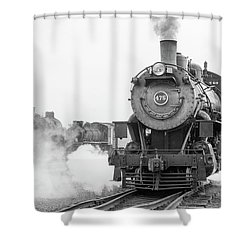 Norfolk And Western 475 Shower Curtain