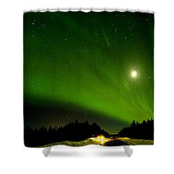 Norrsken 2 Shower Curtain