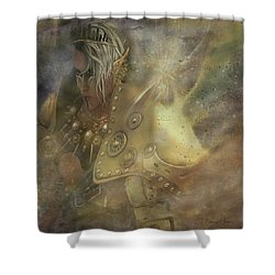 Norse Warrior Shower Curtain