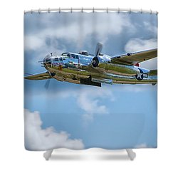 North American B-25 Mitchell Shower Curtain
