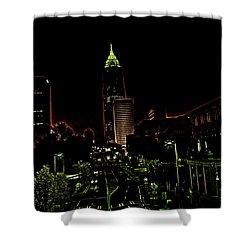 North Avenue Atlanta Shower Curtain by Dennis Baswell
