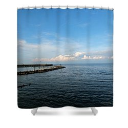 North Beach Shower Curtain