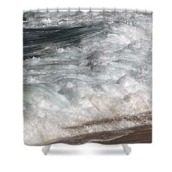 North Beach, Oahu II Shower Curtain