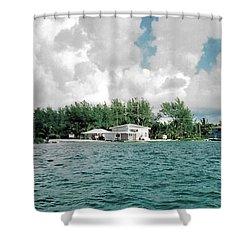 North Bimini Airport Shower Curtain
