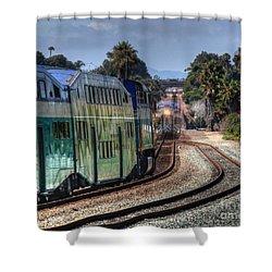 North Bound Shower Curtain