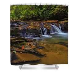 North Carolina Cascade Shower Curtain