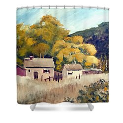 North Carolina Foothills Shower Curtain by Jim Phillips