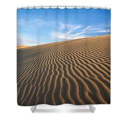 North Carolina Jockey's Ridge State Park Sand Dunes Shower Curtain by Mark VanDyke