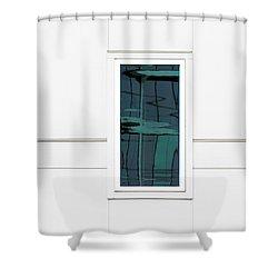 North Carolina Windows 2 Shower Curtain