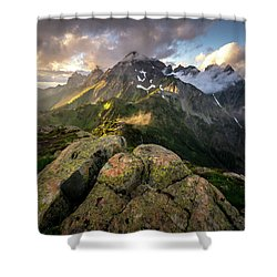 North Cascades National Park Shower Curtain