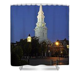 North Church Ncp Shower Curtain