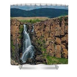 North Clear Creek Falls, Creede, Colorado Shower Curtain