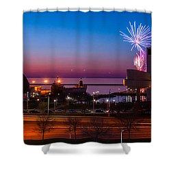 North Coast Harbor Shower Curtain