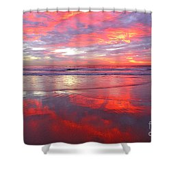 North County Afterglow Shower Curtain