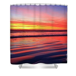 North County Sand Ripples Shower Curtain