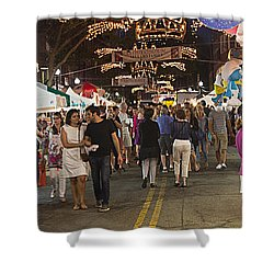 North End Feast Shower Curtain