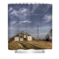 North Fork Farm Shower Curtain