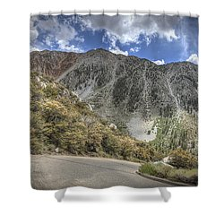 North Lake Road Shower Curtain