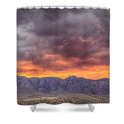 North Of Potosi Shower Curtain