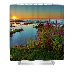 North Point Rising Shower Curtain