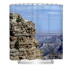North Rim Layers Of Time Shower Curtain