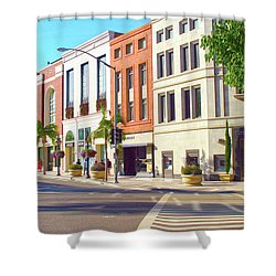 North Rodeo Drive Shower Curtain