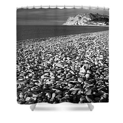 North Shore And Little Orme, Llandudno Shower Curtain
